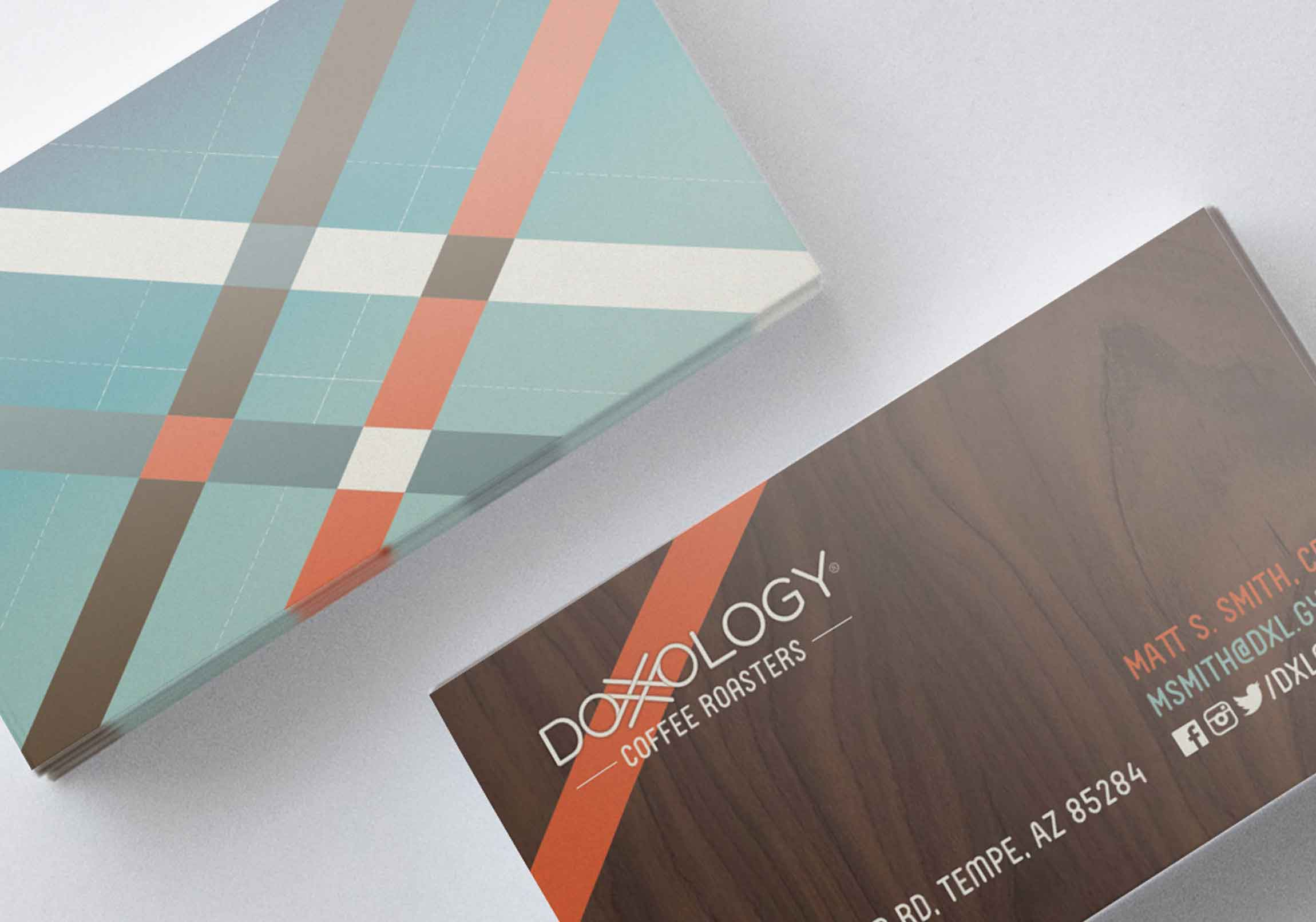DXLGY coffee roasters Business Cards